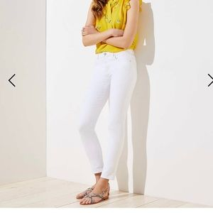 Loft modern skinny cropped Jean